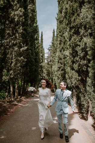 Official wedding ceremony in Tbilisi