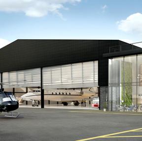 Private Aeroplane Hangar