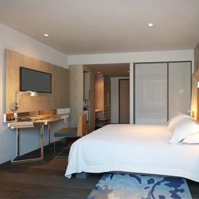 Hotel Bedroom View 2
