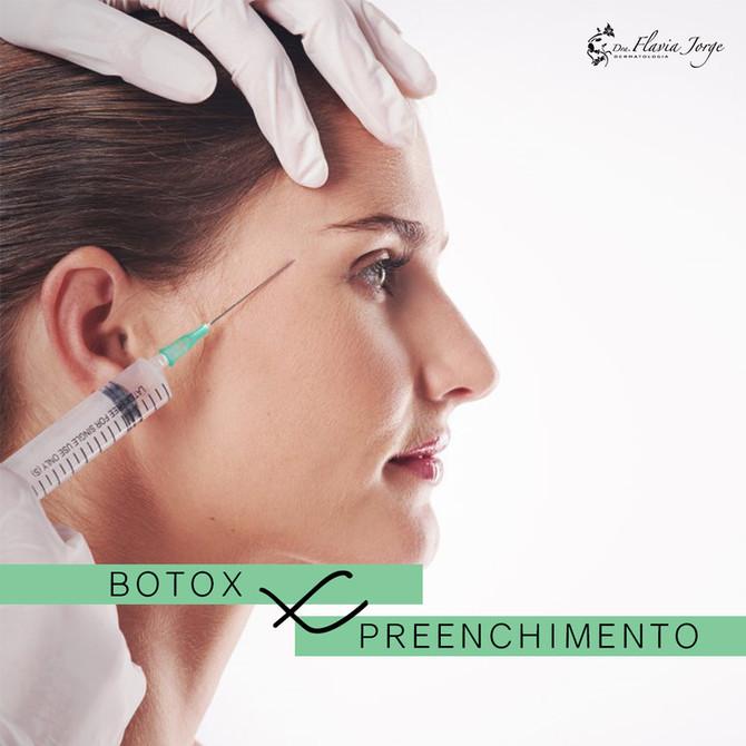 Para entender de vez: Botox x Preenchimento