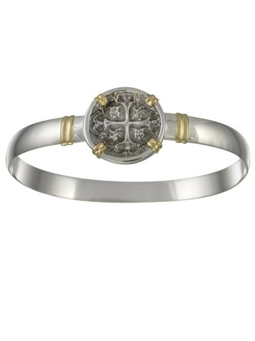 14K Treasure Wrap Coin Hook Bracelet