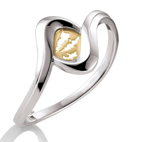 Island Jewelry Bracelet Yellow Gold Heart Collection