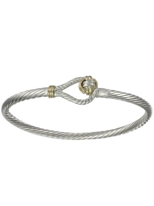 Sailors Knot Cable Link Hook Bracelet