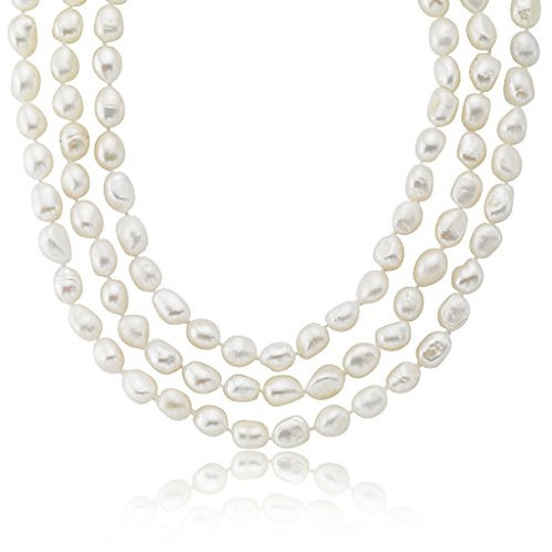 Freshwater Pearl Endless Strand Necklace