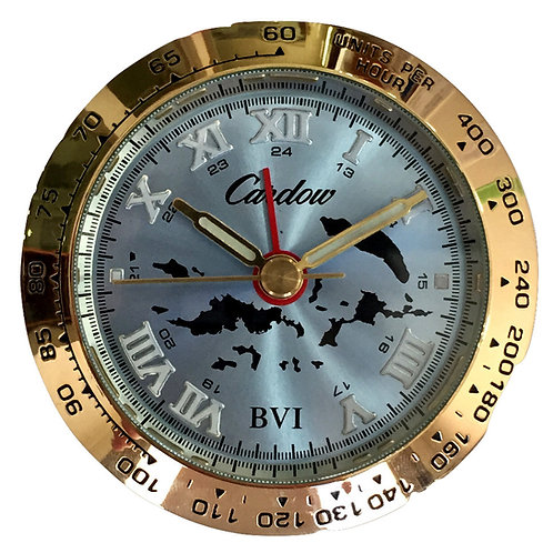 British Virgin Islands Clock