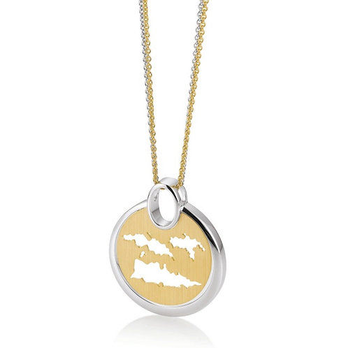 Island Jewelry Necklace Yellow Gold Coin Collection