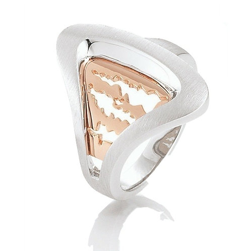 Island Jewelry Ring Rose Gold Seashell Collection