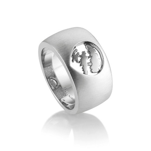Island Jewelry Ring All Silver Tear Drop Collection