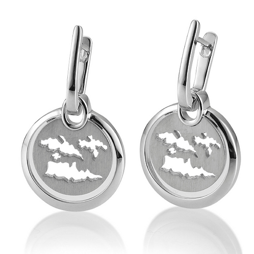 Island Jewelry Earrings All Silver Coin Collection