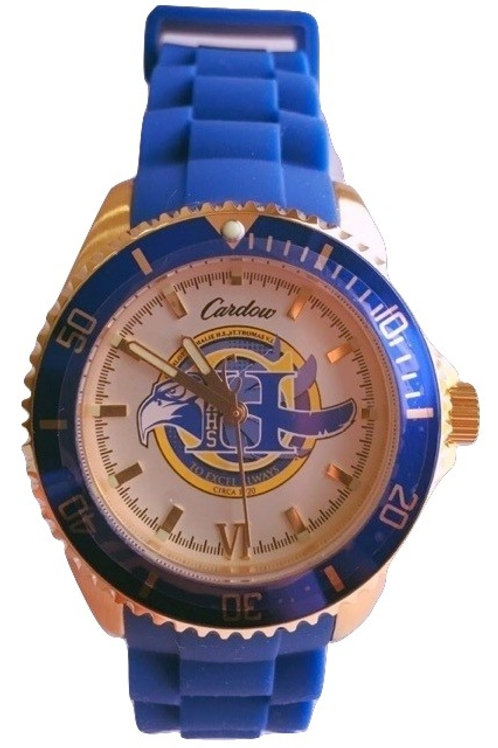 CAHS Women's Silicone Band Watch