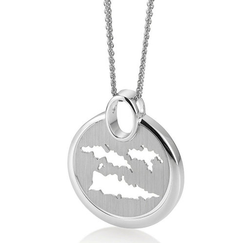 Island Jewelry Necklace All Silver Coin Collection
