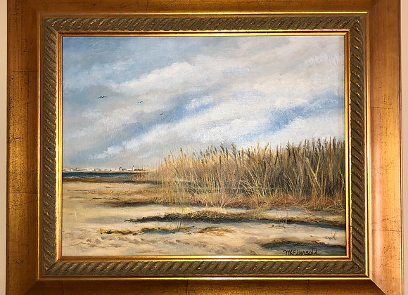 11 x 14 Oil Painting - Gold Frame