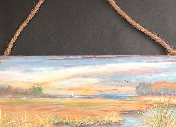 """Barnwood """"Across the Marsh """""""
