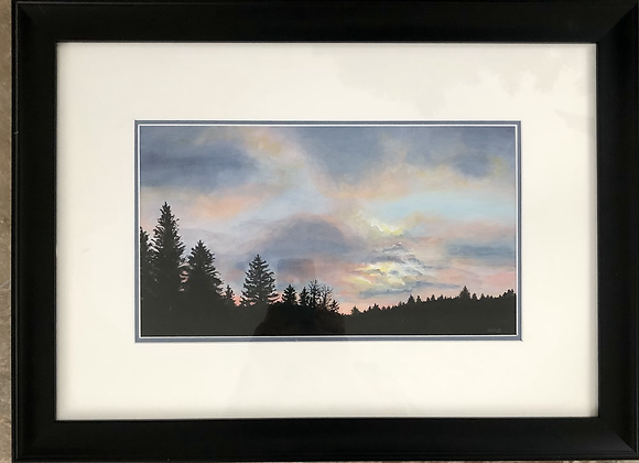 """""""Sunset over the Pines"""""""