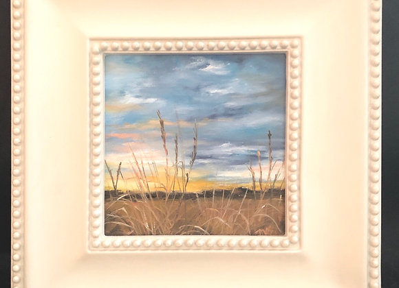 """6x6"""" oil painting - Glorious"""