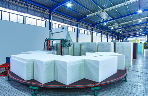 Royal Foam Automated Foam Conversion Facility