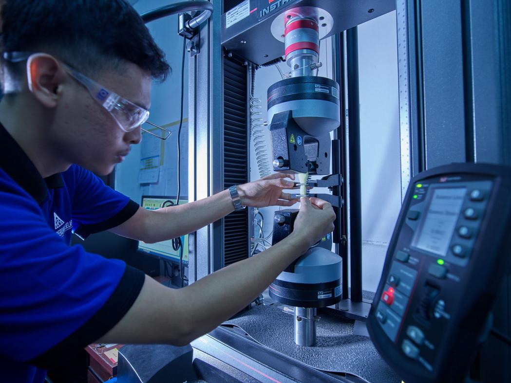 Royal Foam Foam Testing Laboratory