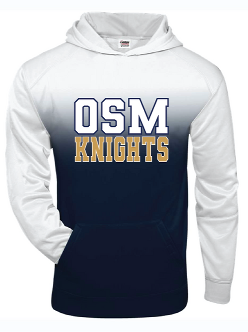 Ombré Hooded Sweatshirt