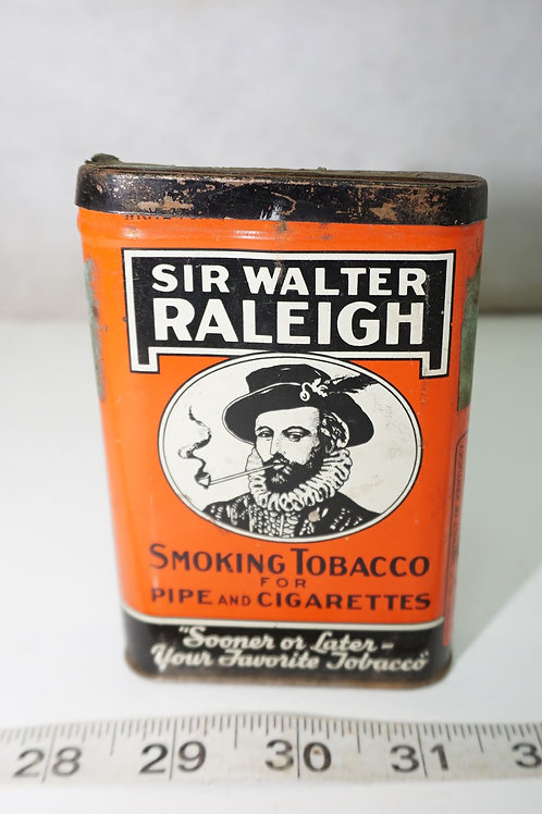 Sir Walter Raleigh Smoking Tobacco Tin Sir Walter Raleigh Sm