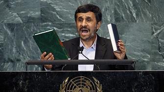 Ahmadinejad's About Face