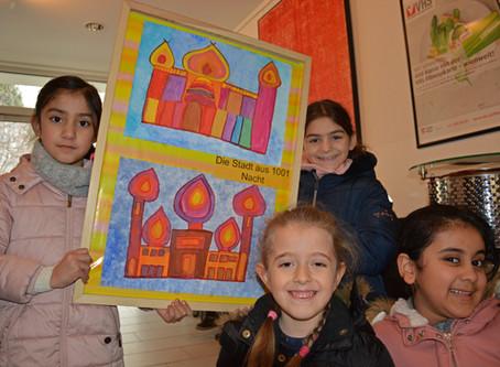 Ausstellung unserer Bilder in der Volkshochschule
