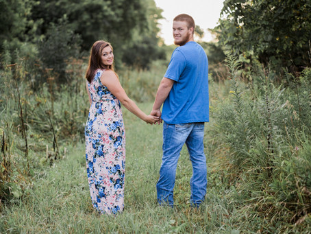 Chris + Courtney| August Engagement