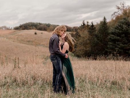 Mariah + Chandler  | October Engagement