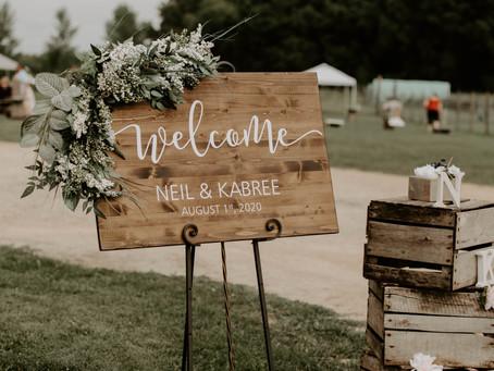 Webster Wedding | August 2020 Wedding