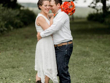 Aaron + Amanda | June Wedding Renewal