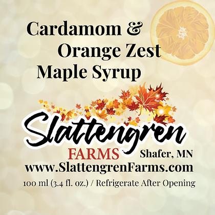 Cardamom and Orange Zest