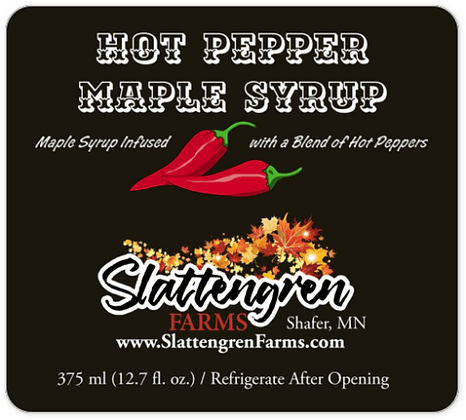 Hot Pepper Maple Syrup (375 mL)