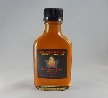 Small Flask Fiery Maple Syrup