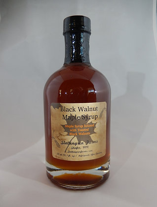Black Walnut Maple Syrup