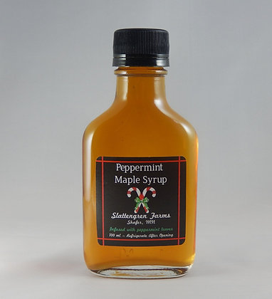 Small Flask Peppermint Maple Syrup