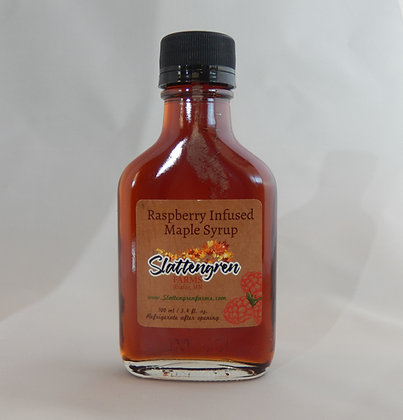 Small Flask Raspberry Maple Syrup