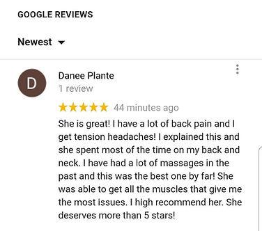 best massage therapist in friendswood