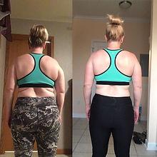 Mom of 4 Weight Loss Progress