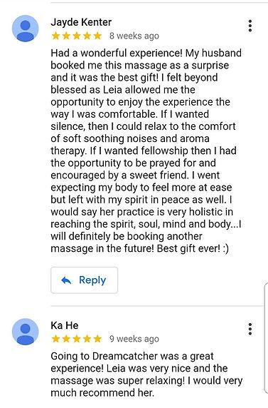 Massage reviews league city