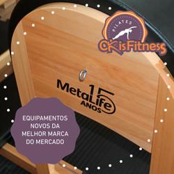 Pilates - Novos equipamentos