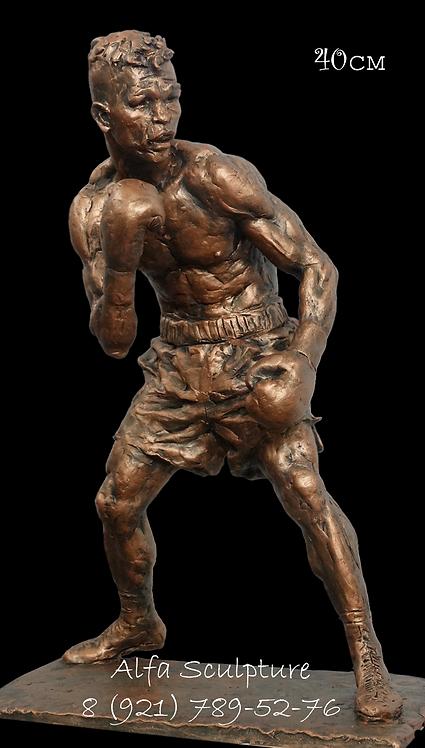Артуро Гатти 40см (бронзовая скульптура на заказ)