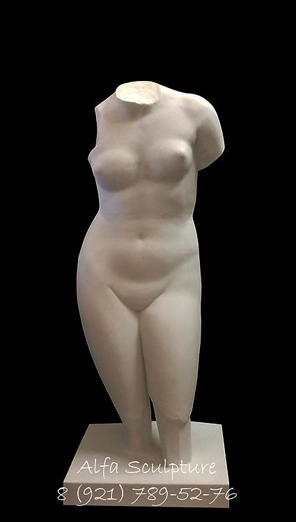 Торс Афродиты 130см (гипс)