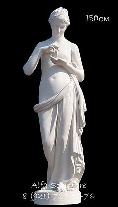 Психея с бабочкой 150см (скульптура из гипса)