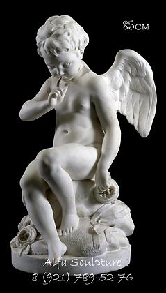 Грозящий Амур 85см (скульптура из полимера)