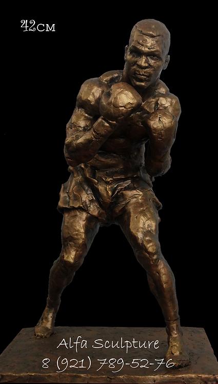 Майк Тайсон 45см (авторская бронзовая скульптура)
