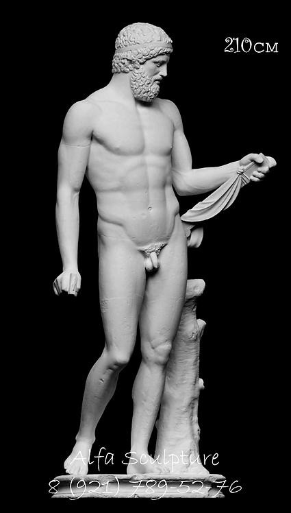 Мюнхенский король 210см (полимер/гипс)