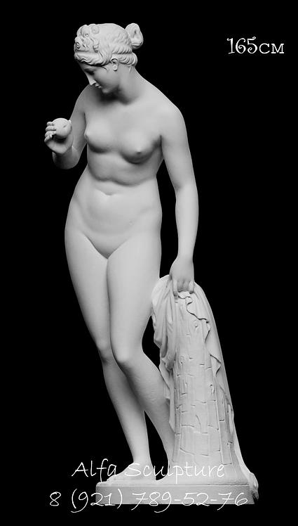 Венера с яблоком 165см (полимер/гипс)