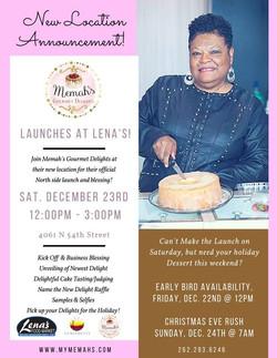 Memah's Launches at Lena's!