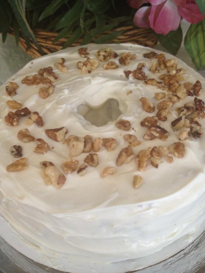 Vanilla Walnut Cake
