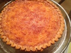 Buttermilk Pie
