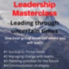 Non free leading through uncertain times